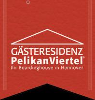 Gästeresidenz PelikanViertel Logo